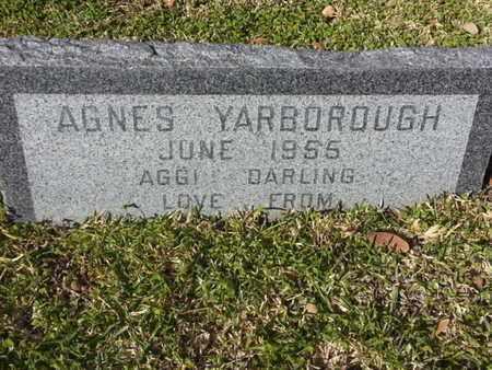 YARBOROUGH, AGNES - Los Angeles County, California | AGNES YARBOROUGH - California Gravestone Photos