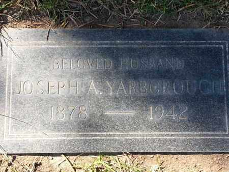 YARBOROUGH, JOSEPH A. - Los Angeles County, California | JOSEPH A. YARBOROUGH - California Gravestone Photos