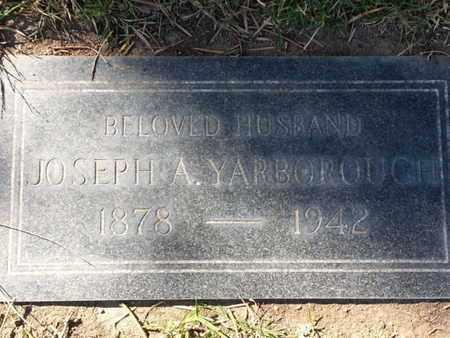 YARBOROUGH, JOSEPH A. - Los Angeles County, California | JOSEPH A. YARBOROUGH - California Gravestone Photos