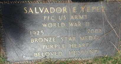 YEPEZ, SLVADOR - Los Angeles County, California | SLVADOR YEPEZ - California Gravestone Photos