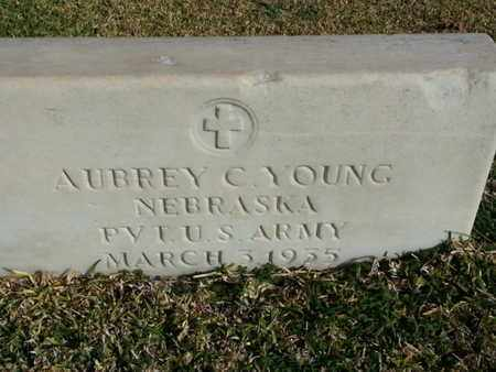 YOUNG, AUBREY C. - Los Angeles County, California | AUBREY C. YOUNG - California Gravestone Photos