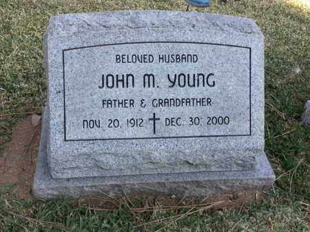 YOUNG, JOHN M. - Los Angeles County, California | JOHN M. YOUNG - California Gravestone Photos