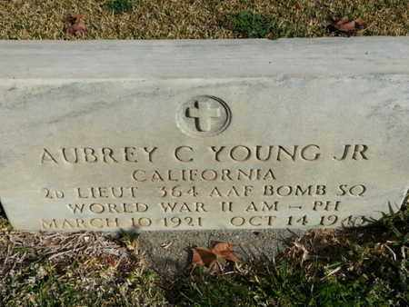 YOUNG JR., AUBREY C. - Los Angeles County, California | AUBREY C. YOUNG JR. - California Gravestone Photos