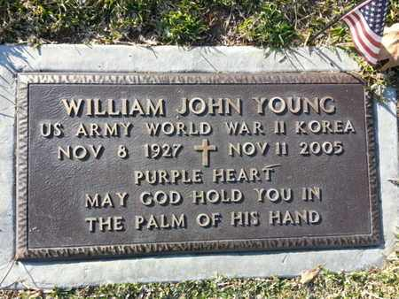 YOUNG, WILLIAM JOHN - Los Angeles County, California | WILLIAM JOHN YOUNG - California Gravestone Photos