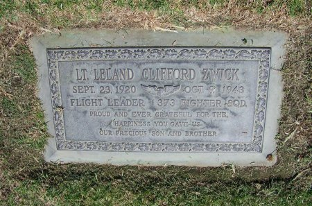 ZWICK, LELAND CLIFFORD  [WWII] - Los Angeles County, California   LELAND CLIFFORD  [WWII] ZWICK - California Gravestone Photos