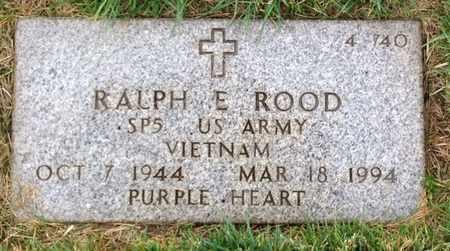 ROOD, RALPH E. - Merced County, California | RALPH E. ROOD - California Gravestone Photos