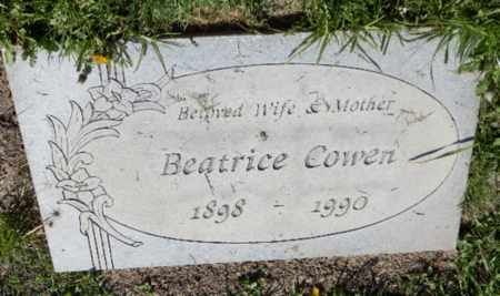 MOSIER COWEN, BEATRICE - Orange County, California | BEATRICE MOSIER COWEN - California Gravestone Photos