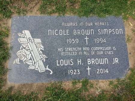 SIMPSON, NICOLE BROWN - Orange County, California | NICOLE BROWN SIMPSON - California Gravestone Photos