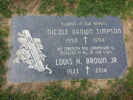 BROWN, LOUIS H., JR. - Orange County, California | LOUIS H., JR. BROWN - California Gravestone Photos