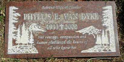 VAN DYKE, PHYLLIS ETHEL - Orange County, California | PHYLLIS ETHEL VAN DYKE - California Gravestone Photos