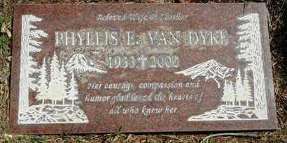 VAN DYKE, PHYLLIS ETHEL - Orange County, California | PHYLLIS ETHEL VAN DYKE - California Gravestone Photos