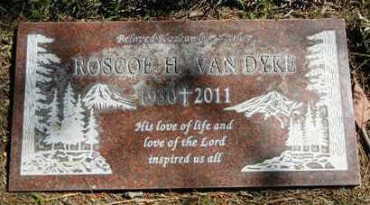 "VAN DYKE, ROSCOE HUBERT ""ROSS"" - Orange County, California | ROSCOE HUBERT ""ROSS"" VAN DYKE - California Gravestone Photos"