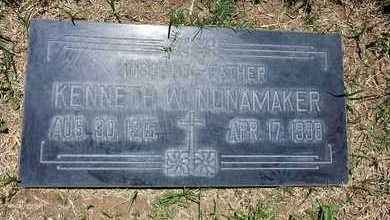 NUNAMAKER, KENNETH - Riverside County, California | KENNETH NUNAMAKER - California Gravestone Photos