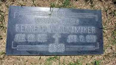 NUNAMAKER, KENNETH - Riverside County, California   KENNETH NUNAMAKER - California Gravestone Photos