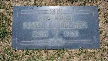 HALL YAROLIMEK, HAZEL - Riverside County, California   HAZEL HALL YAROLIMEK - California Gravestone Photos