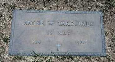 YAROLIMEK, WAYNE - Riverside County, California | WAYNE YAROLIMEK - California Gravestone Photos