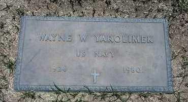 YAROLIMEK, WAYNE - Riverside County, California | WAYNE YAROLIMEK - California Gravestone Photos