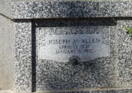 ALLEN, JOSEPH - Sacramento County, California | JOSEPH ALLEN - California Gravestone Photos
