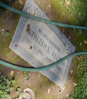 ALLISON, KATHLEEN - Sacramento County, California | KATHLEEN ALLISON - California Gravestone Photos