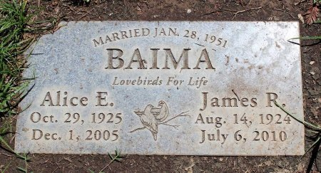 BAIMA, JAMES R. - Sacramento County, California | JAMES R. BAIMA - California Gravestone Photos