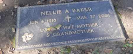 BAKER, NELLIE - Sacramento County, California | NELLIE BAKER - California Gravestone Photos