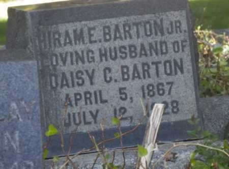 BARTON, HIRAM - Sacramento County, California | HIRAM BARTON - California Gravestone Photos