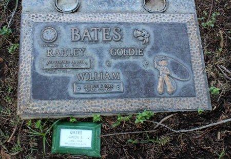 BATES, RAHLEY - Sacramento County, California   RAHLEY BATES - California Gravestone Photos