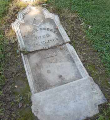 BECKER, ZADOCK - Sacramento County, California | ZADOCK BECKER - California Gravestone Photos