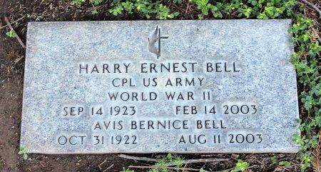 BELL, HARRY ERNEST - Sacramento County, California | HARRY ERNEST BELL - California Gravestone Photos