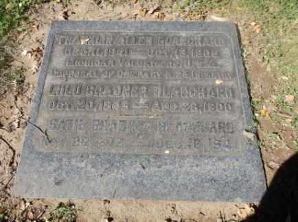 BRADNER BLANCHARD, LULU - Sacramento County, California | LULU BRADNER BLANCHARD - California Gravestone Photos