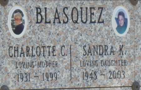 BLASQUEZ, CHARLOTTE - Sacramento County, California | CHARLOTTE BLASQUEZ - California Gravestone Photos