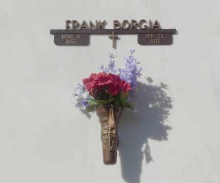 BORGIA, FRANK - Sacramento County, California | FRANK BORGIA - California Gravestone Photos