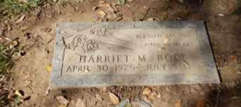 BOST, HARRIET - Sacramento County, California | HARRIET BOST - California Gravestone Photos