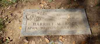 BOST, HARRIET - Sacramento County, California | HARRIET BOST - California Gravestone Photos