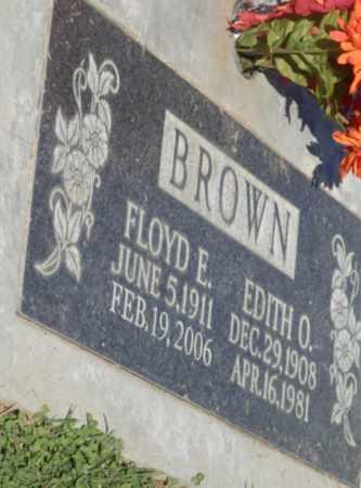 BROWN, EDITH O - Sacramento County, California | EDITH O BROWN - California Gravestone Photos