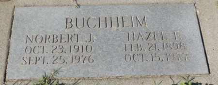 BUCHHEIM, HAZEL F. - Sacramento County, California | HAZEL F. BUCHHEIM - California Gravestone Photos