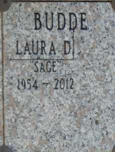 BUDDE, LAURA - Sacramento County, California | LAURA BUDDE - California Gravestone Photos