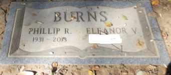 BURNS, ELEANOR V - Sacramento County, California | ELEANOR V BURNS - California Gravestone Photos