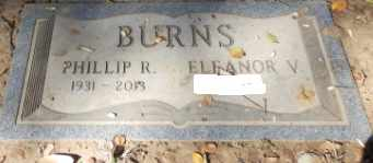 BURNS, PHILLIP R - Sacramento County, California   PHILLIP R BURNS - California Gravestone Photos