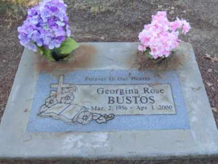 BUSTOS, GEORGINA ROSE - Sacramento County, California | GEORGINA ROSE BUSTOS - California Gravestone Photos