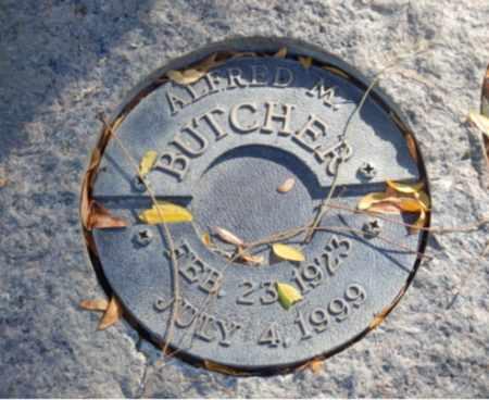 BUTCHER, ALFRED - Sacramento County, California | ALFRED BUTCHER - California Gravestone Photos
