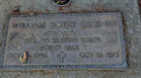 CALKINS, WILLIAM BOYCE - Sacramento County, California | WILLIAM BOYCE CALKINS - California Gravestone Photos