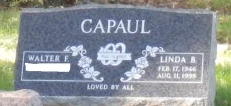 CAPAUL, WALTER F - Sacramento County, California   WALTER F CAPAUL - California Gravestone Photos
