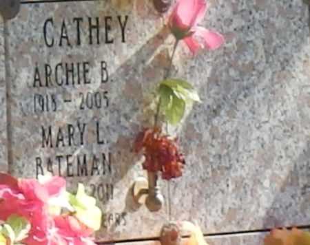 BATEMAN CATHEY, MARY L - Sacramento County, California   MARY L BATEMAN CATHEY - California Gravestone Photos