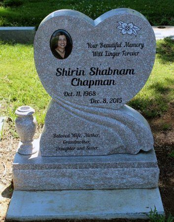 CHAPMAN, SHIRIN SHABNAM - Sacramento County, California | SHIRIN SHABNAM CHAPMAN - California Gravestone Photos