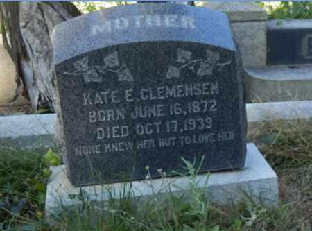 CLEMENSEN, KATE - Sacramento County, California   KATE CLEMENSEN - California Gravestone Photos