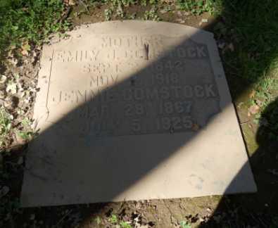 COMSTOCK, JENNIE - Sacramento County, California | JENNIE COMSTOCK - California Gravestone Photos