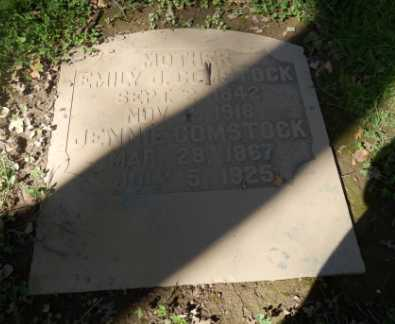 COMSTOCK, EMILY - Sacramento County, California   EMILY COMSTOCK - California Gravestone Photos