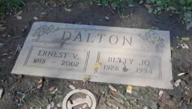 DALTON, ERNEST V - Sacramento County, California | ERNEST V DALTON - California Gravestone Photos