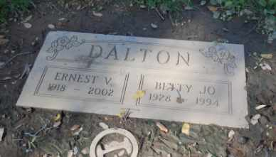 DALTON, BETTY JO - Sacramento County, California   BETTY JO DALTON - California Gravestone Photos
